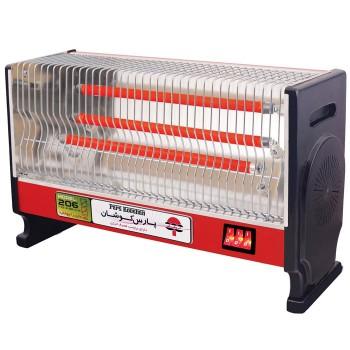 بخاری برقی پارس کوشان مدل 206 فن دار |