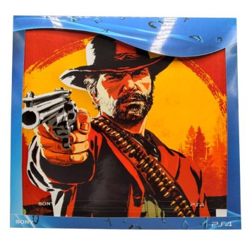 محافظ کنسول بازی PlayStation 4 Slim Skin Red Dead Redemption 2