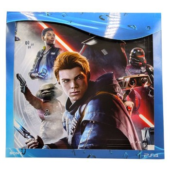 محافظ کنسول بازی PlayStation 4 Slim Skin Star Wars Jedi Fallen Order