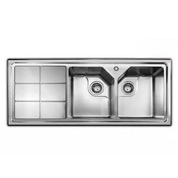 سینک آشپزخانه توکار اخوان مدل 324