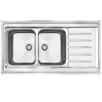سینک آشپزخانه روکار مدل 154SP اخوان