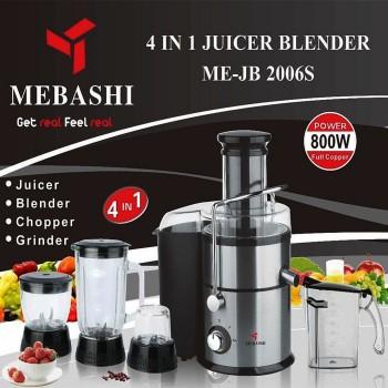 آبمیوه گیری Mebashi مدل JB2006