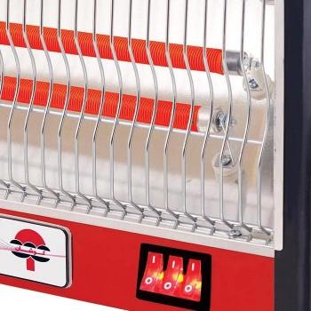 بخاری برقی پارس کوشان مدل 206 فن دار
