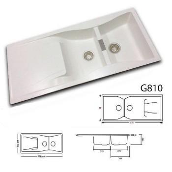 سینک آشپزخانه گرانیتی گرانیکو مدل G810
