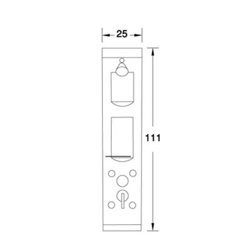 پانل دوش N-SP019 شاینی