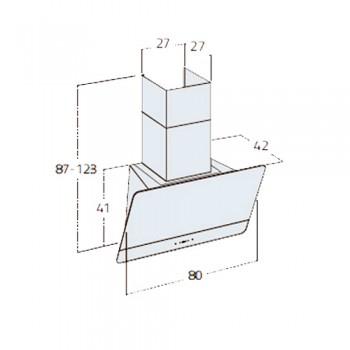 هود آشپزخانه زیگما مدل SKINNY